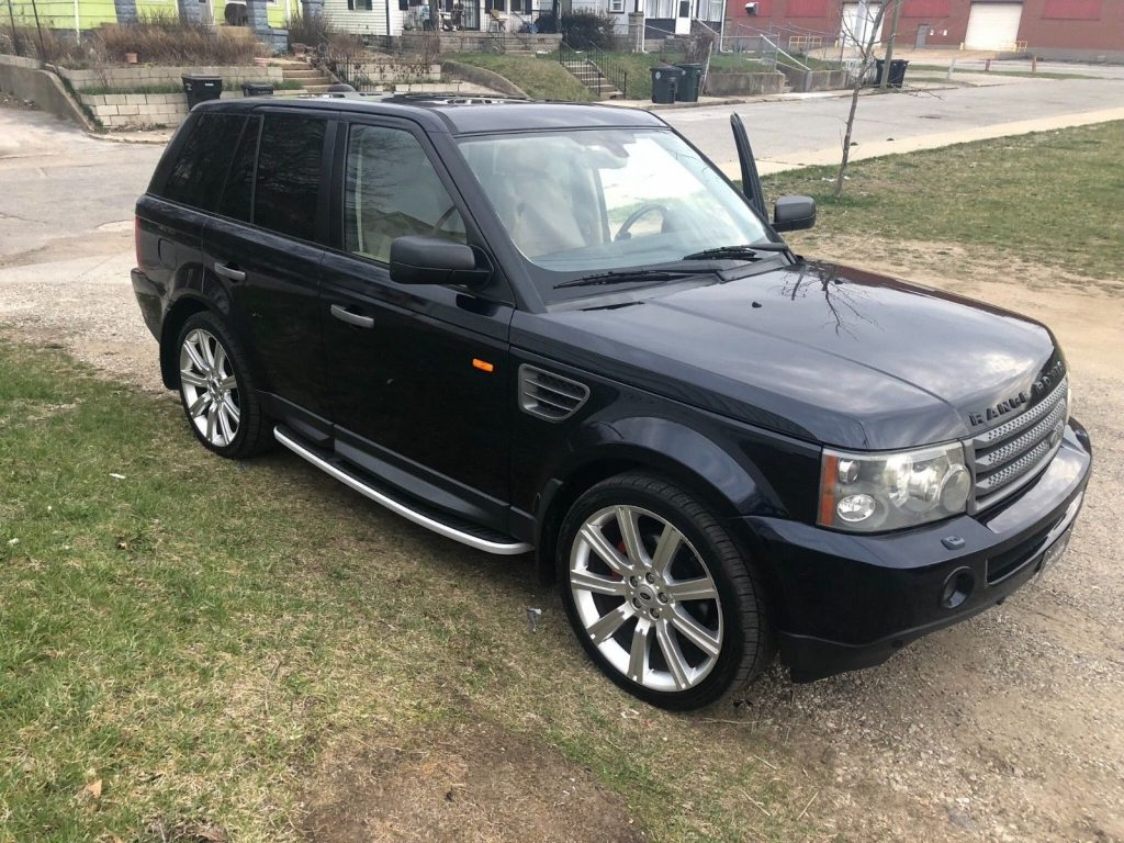 new parts 2007 Land Rover Range Rover Sport offroad