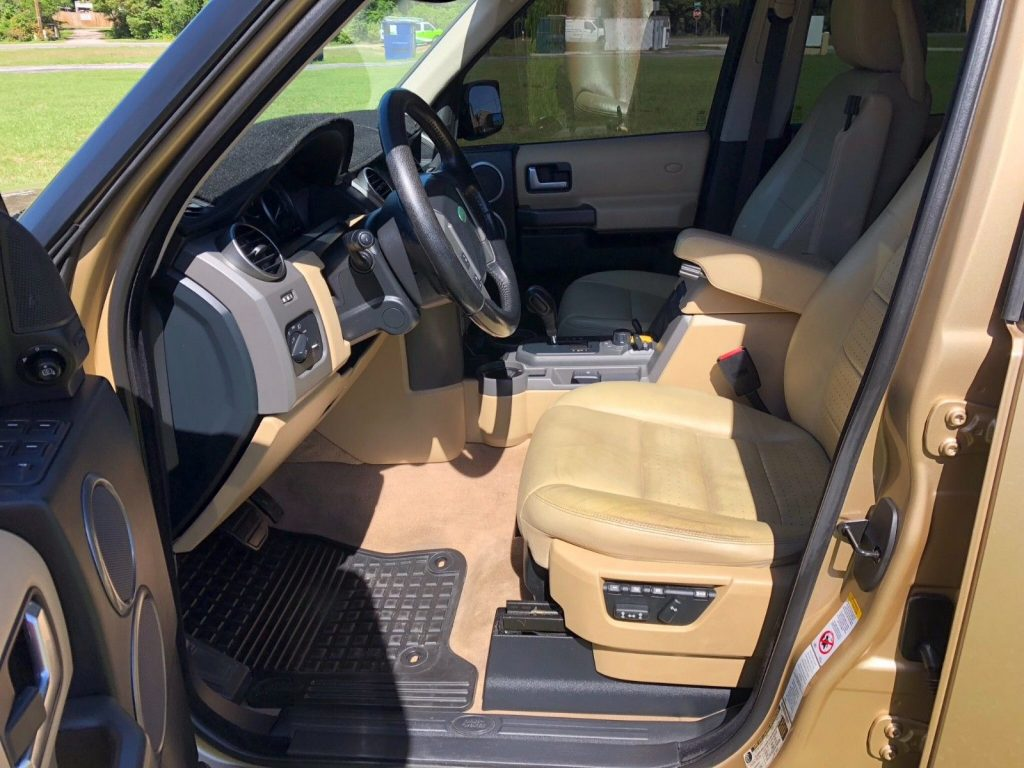 rare color 2005 Land Rover LR3 HSE offroad