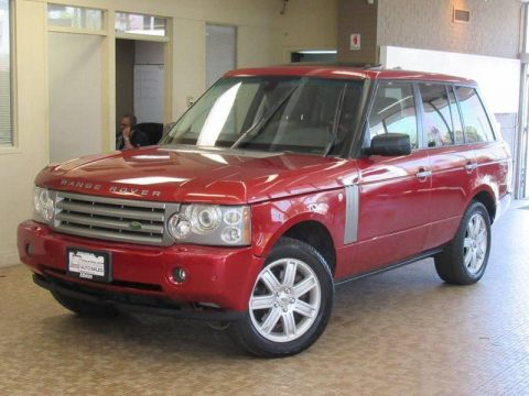 serviced and detailed 2008 Range Rover HSE 4×4 SUV offroad for sale