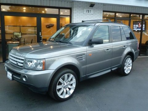 well equipped 2008 Range Rover Sport Supercharged offroad for sale