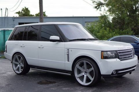 custom wheels 2012 Range Rover Supercharged 4×4 offroad for sale