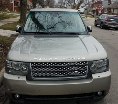 engine issue 2010 Land Rover Range Rover LUX offroad for sale
