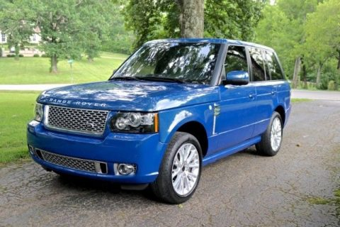 very clean 2012 Land Rover Range Rover Autobiography offroad for sale