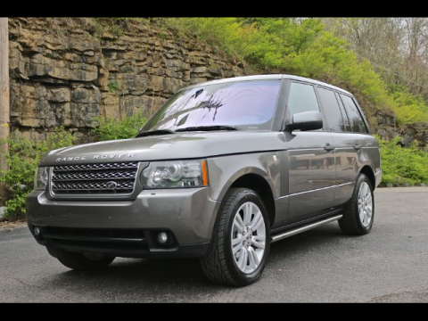 well equipped 2010 Land Rover Range Rover offroad for sale