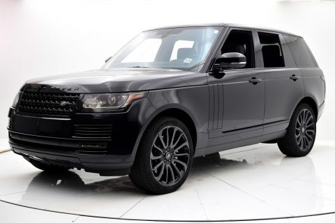 Ebony Edition 2014 Range Rover V8 Supercharged offroad for sale