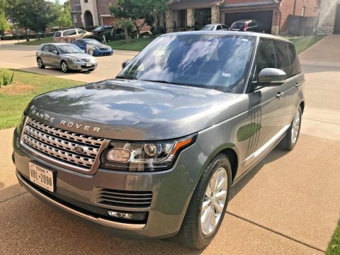 Excellent shape 2016 Range Rover HSE offroad for sale