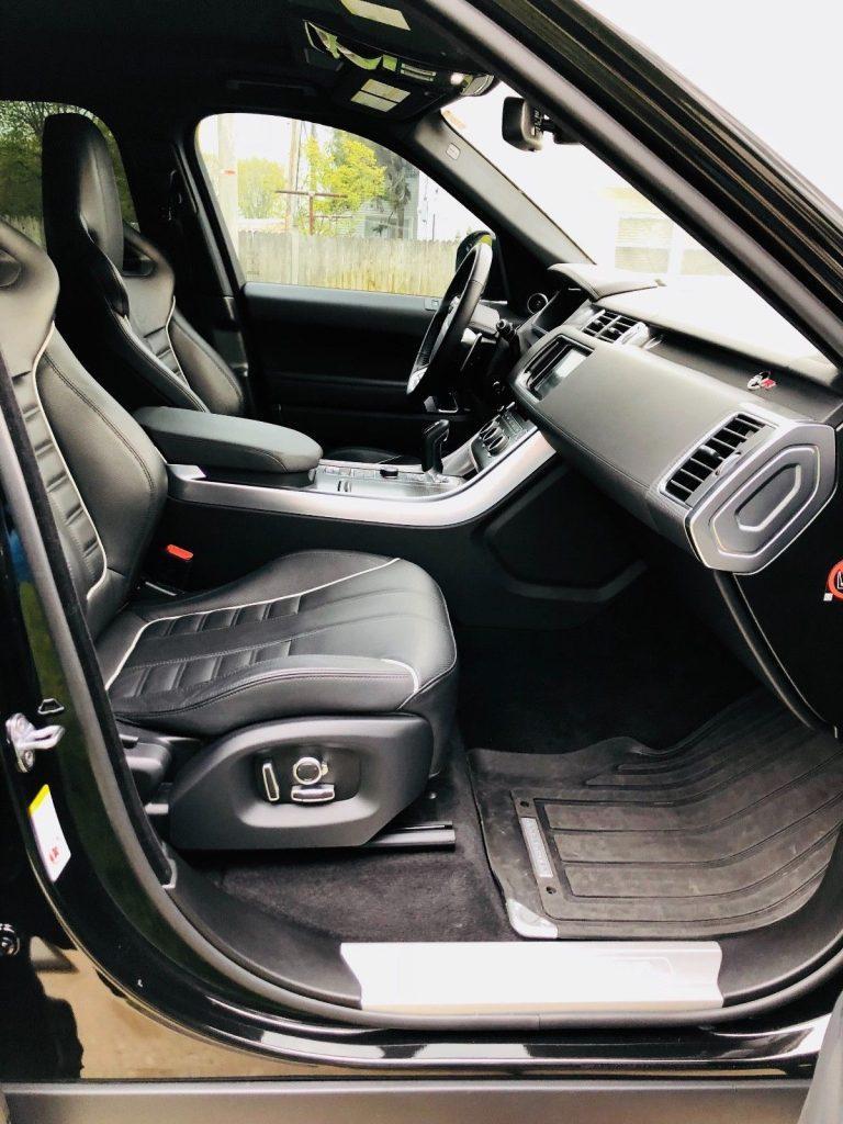 excellent shape 2016 Range Rover Sport SVR offroad
