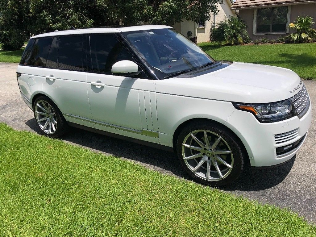 fully optioned 2016 Range Rover HSE Td6 offroad