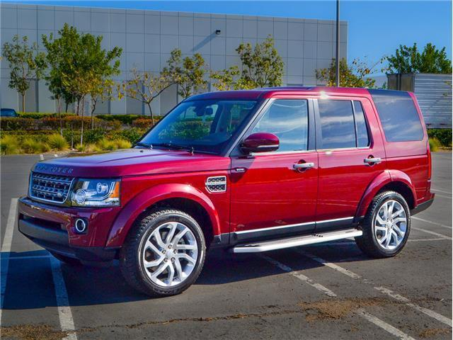 loaded 2016 Land Rover LR4 HSE Silver Edition offroad