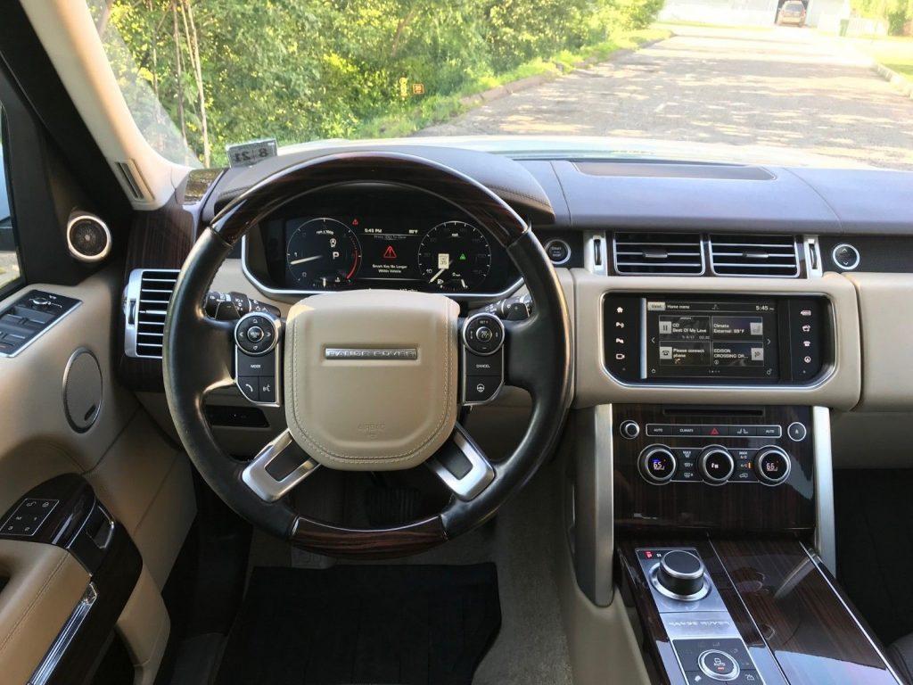 loaded 2016 Range Rover Sport offroad