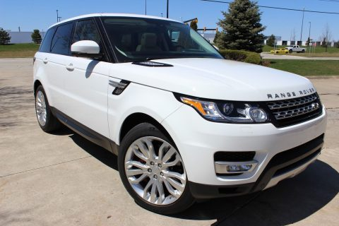 loaded with options 2015 Range Rover Sport offroad for sale
