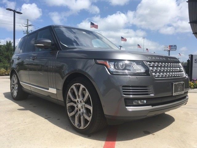 low mileage 2016 Range Rover 3.0L V6 Supercharged HSE offroad