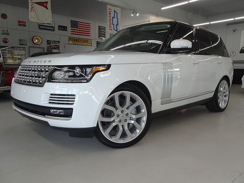 low miles 2014 Range Rover Supercharged offroad for sale