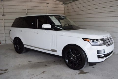 low miles 2016 Range Rover 5.0L V8 Supercharged offroad for sale