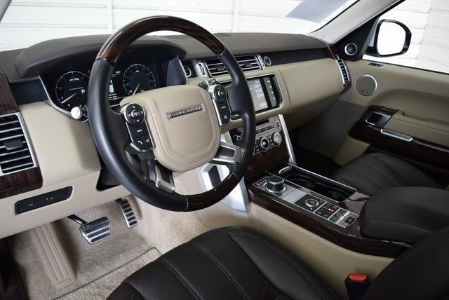 low miles 2016 Range Rover 5.0L V8 Supercharged offroad