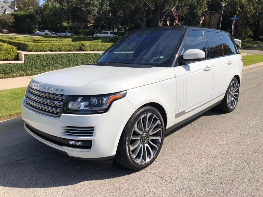 low miles 2016 Range Rover AUTOBIOAGRAPHY package offroad