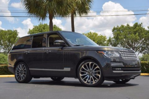 luxury package 2014 Range Rover 4WD offroad for sale