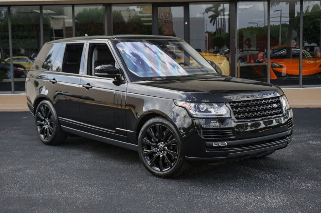 Supercharged 2016 Range Rover 4WD offroad