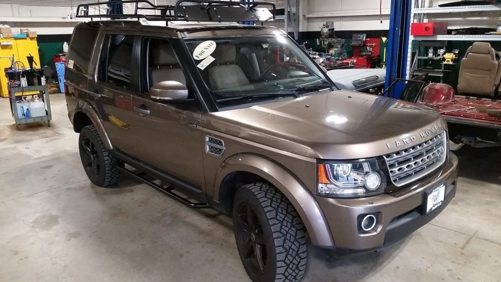 Well Equipped 2014 Land Rover Lr4 Offroad For Sale
