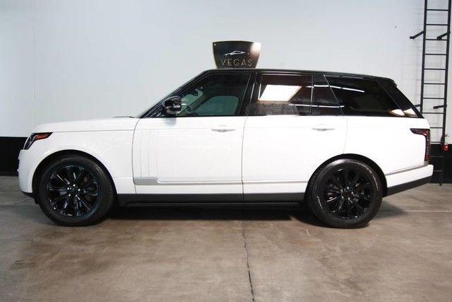 well equipped 2016 Range Rover HSE offroad