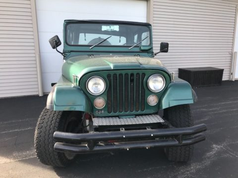 great shape 1975 Jeep CJ offroad for sale