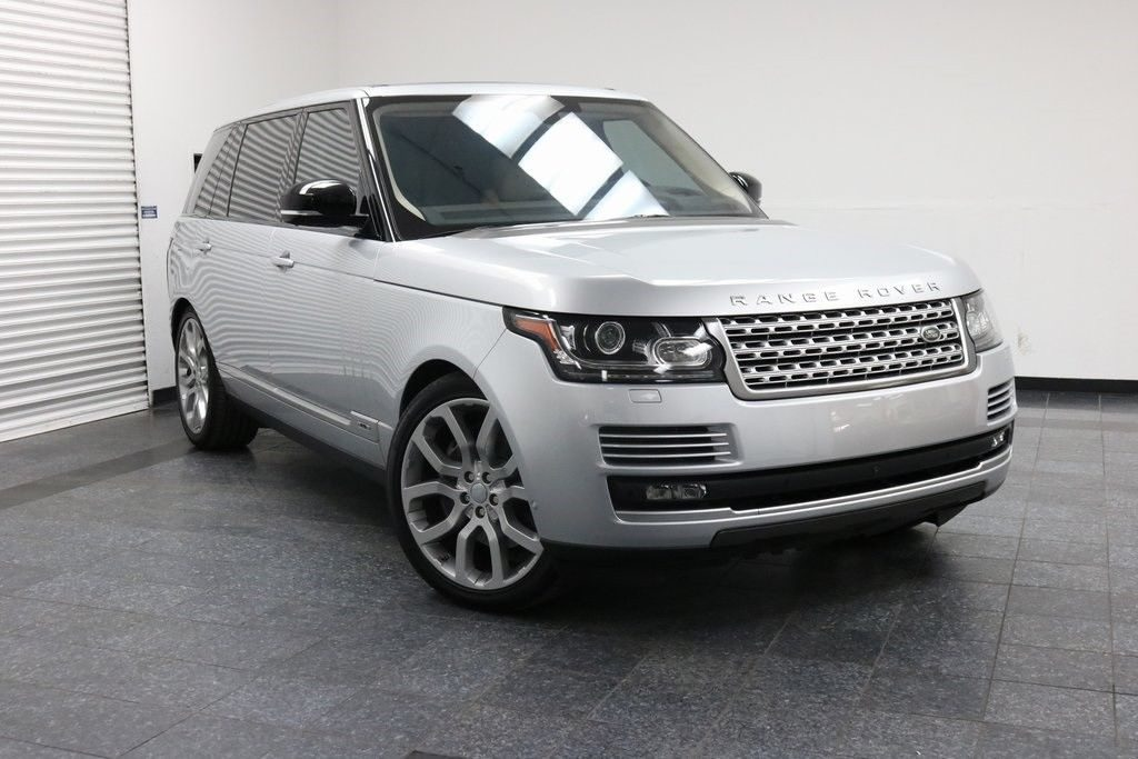 loaded 2016 Range Rover 5.0L V8 Supercharged offroad