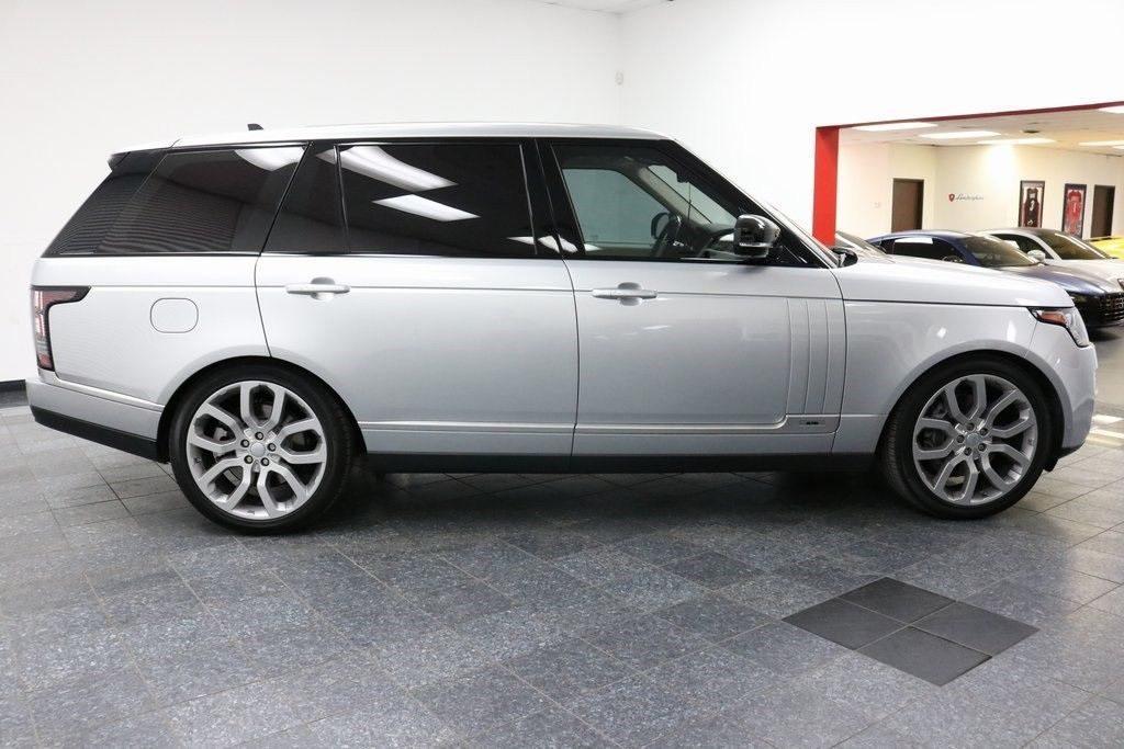 loaded 2016 Range Rover 5.0L V8 Supercharged offroad