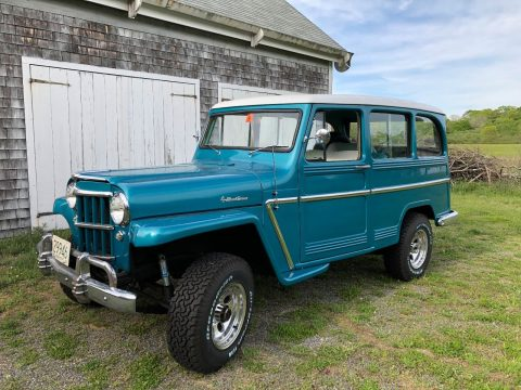 recently serviced 1962 Willys Station Wagon offroad for sale