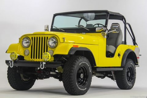 restored 1972 Jeep CJ5 offroad for sale