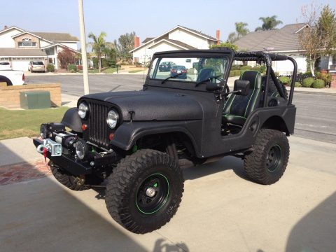 restored and customized 1974 Jeep CJ5 offroad for sale