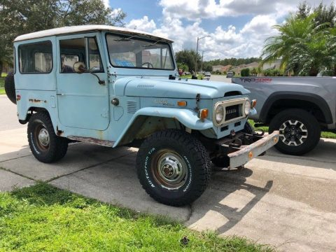 everything original 1973 Toyota Land Cruiser Fj40 offroad for sale