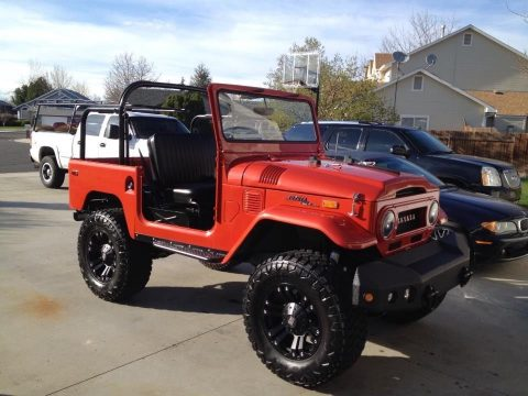 many new parts 1970 Toyota Land Cruiser offroad for sale