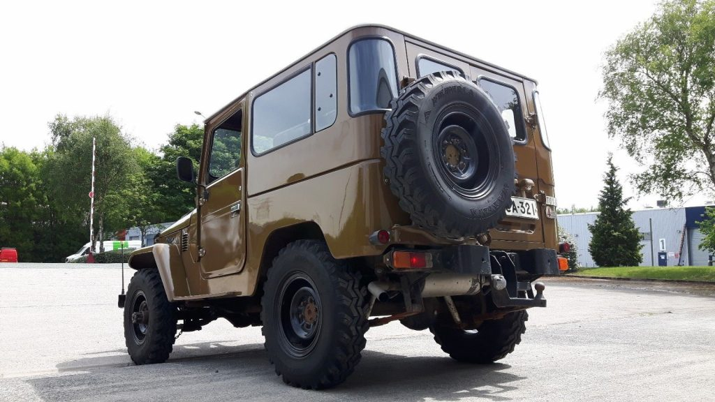 modified 1979 Toyota Land Cruiser bj40 offroad