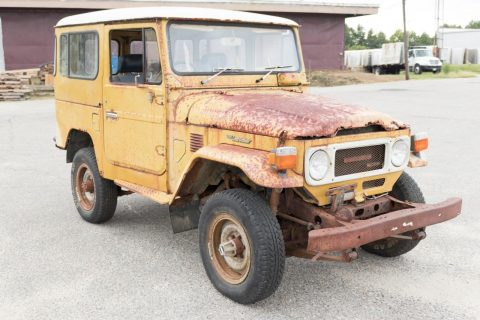 needs restoration 1982 Toyota Land Cruiser BJ42 offroad for sale
