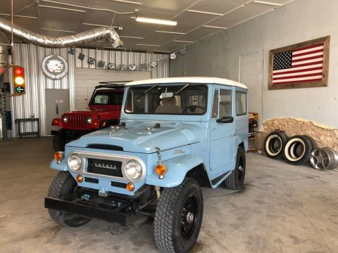 pristine 1968 Toyota Land Cruiser offroad for sale