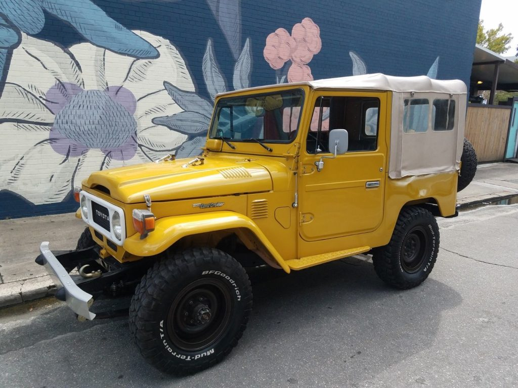 professionally restored 1982 Toyota Land Cruiser offroad