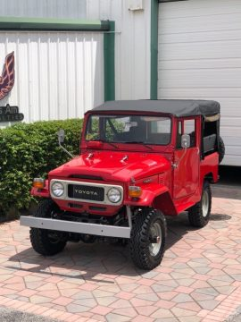 refreshed 1980 Toyota Land Cruiser offroad for sale