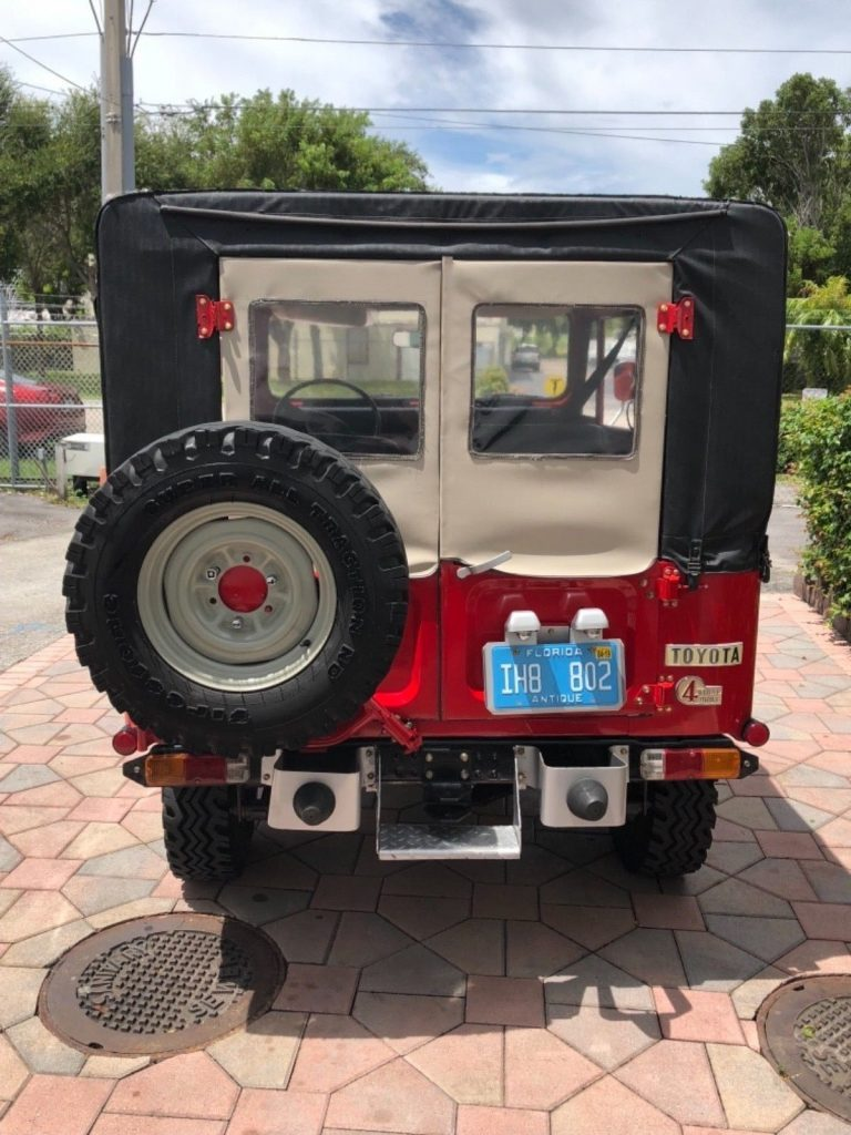 refreshed 1980 Toyota Land Cruiser offroad