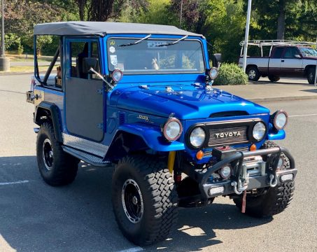 restomod 1973 Toyota Land Cruiser fj40 offroad for sale