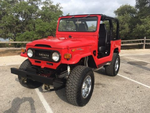 restomod 1973 Toyota Land Cruiser offroad for sale