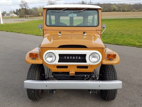 restored 1973 Toyota Land Cruiser offroad for sale