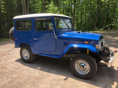 restored 1974 Toyota Land Cruiser FJ 40 offroad for sale