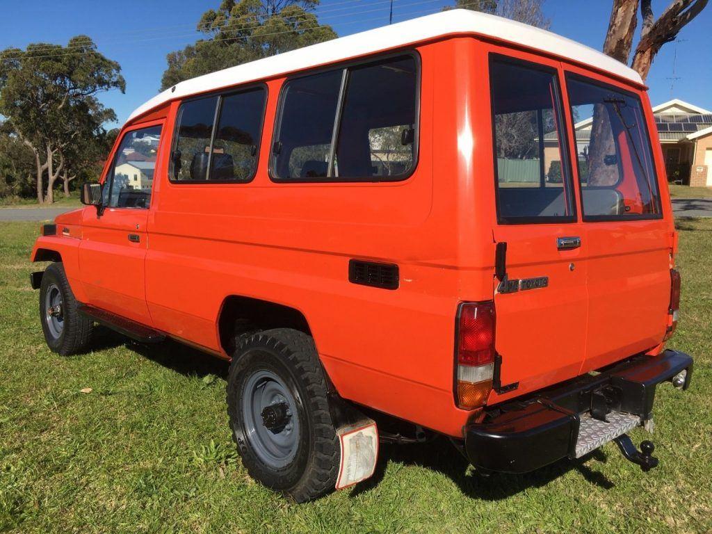 rust free 1980 Toyota Land Cruiser offroad
