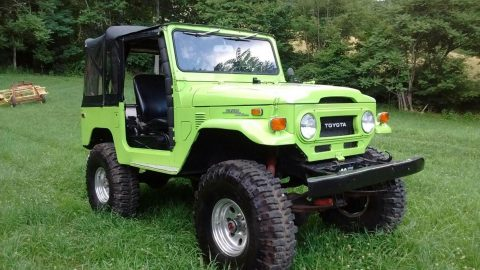 very nice 1974 Toyota Land Cruiser offroad for sale