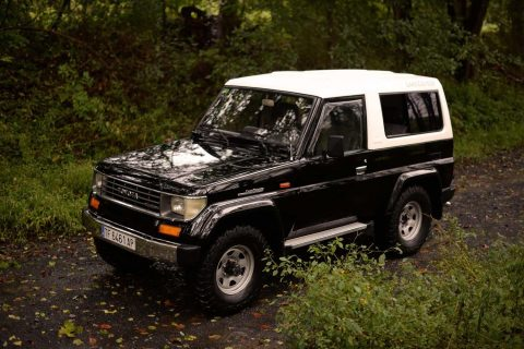 fresh paintjob 1991 Toyota Land Cruiser offroad for sale