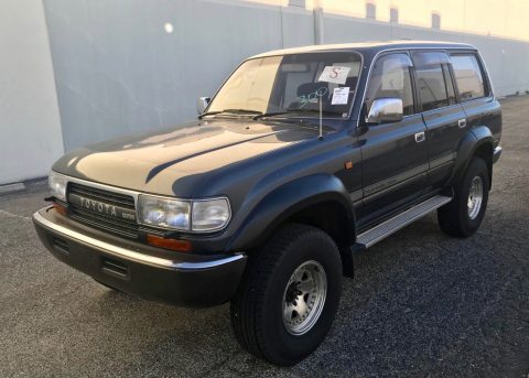 good shape 1991 Toyota Land Cruiser HDJ81 offroad for sale