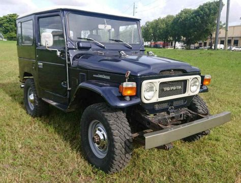 great shape 1982 Toyota Land Cruiser FJ40 offroad for sale