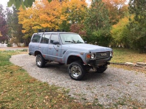 little rust 1985 Toyota Land Cruiser FJ60 offroad for sale