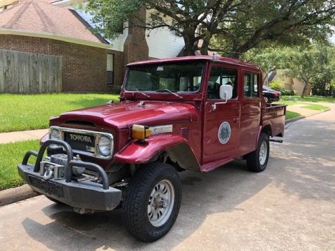 nice 1985 Toyota Land Cruiser FJ45 offroad for sale
