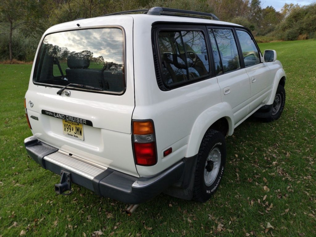 recently serviced parts 1992 Toyota Land Cruiser FJ80 offroad